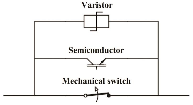 hybrid hvdc circuit breaker
