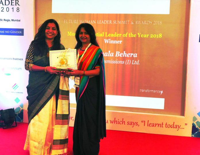 online news, blogs, news articles, Case Studies, Industry Articles, Article Publications, Journal | energy & power industry | Nirmala Gets 'Most Influential Leader of the year 2018' Award - Electrical India Magazine on Power & Electrical products, Renewable Energy, Transformers, Switchgear & Cables